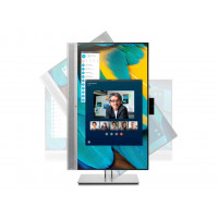 HP EliteDisplay E243m IPS 23.8 FHD HDMI DP VGA USB 5ms speak. webcam swivel pivot height (1FH48AA)