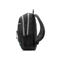 HP 39.62 cm (15.6'') Active Backpack (Black/Mint Green) (1LU22AA)